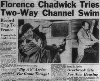 Florence Chadwick Paper