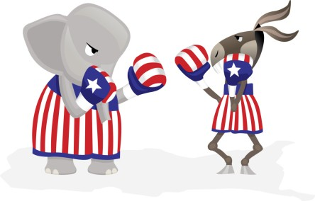 Political Symbols Fight