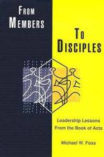 Members to Disciple